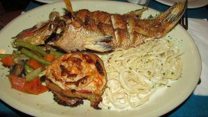 Plat restaurant casa adela à Playa del Carmen