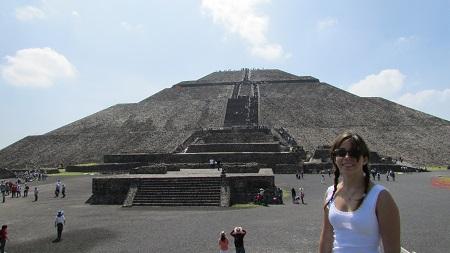 Morganita au Mexique, Teotihuacan