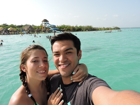 Lagune de Bacalar, station balnéaire