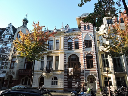 7 maisons 7 pays, Amsterdam