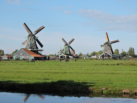 molinos en Ámsterdam
