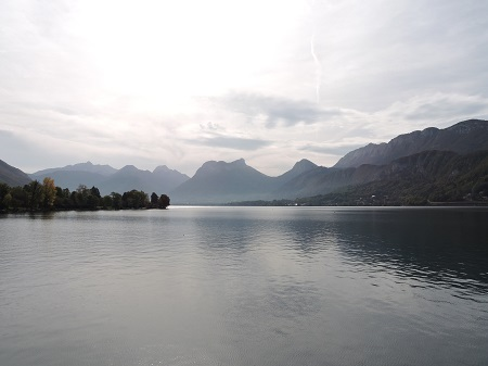 lago annecy bici tour