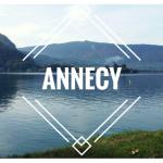 Visitar la ciudad de Annecy y dar la vuelta al lago!