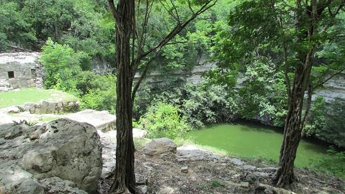 cenote sacré chichen Itzá