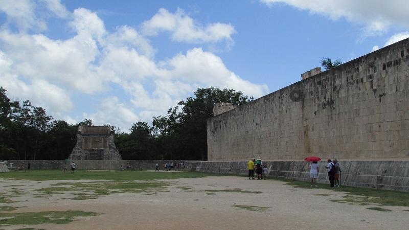 chichen Itzá juego de pelota