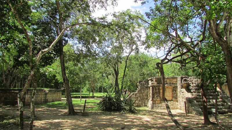 Chichen Itzá paseo