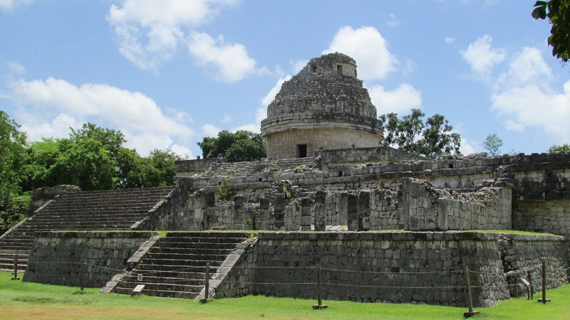 caracol chichen Itzá