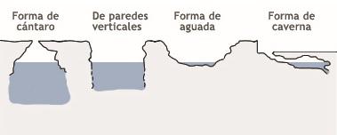 types de cenote, homun
