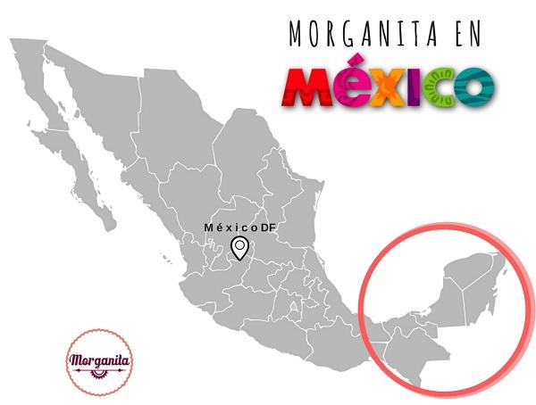 Yucatan México mapa