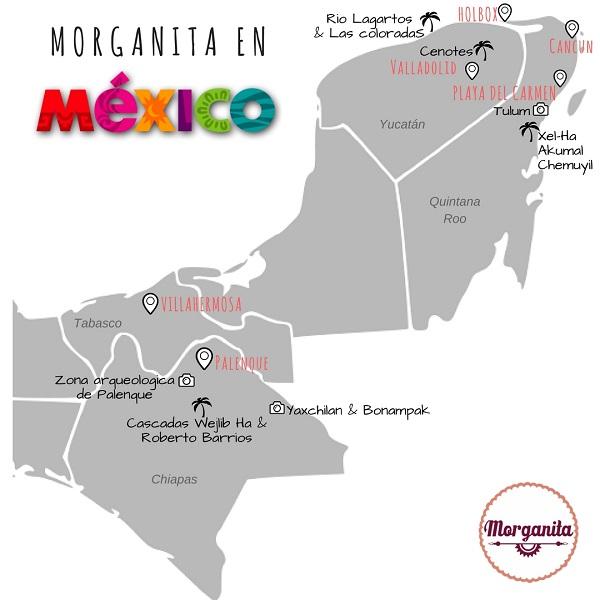 viaje mexico chiapas yucatan