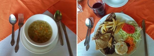 Yaxchilán comida