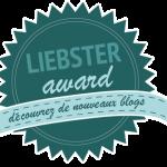 Le Liebster Award, je participe!