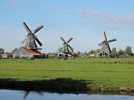 moulins à Amsterdam