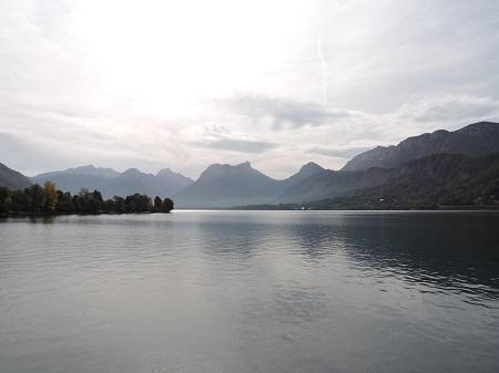 lac d'annecy balade à velo