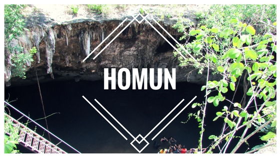 cenotes homun