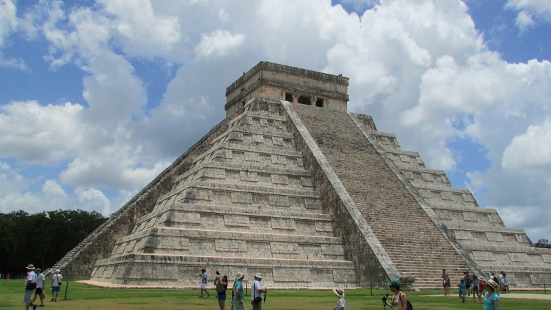 La pyramide, Chichen Itzá