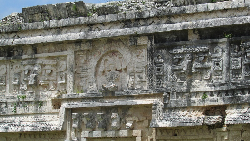 sculptures à Chichen Itzá