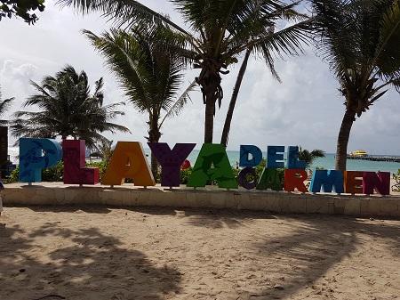 playa del camen letras