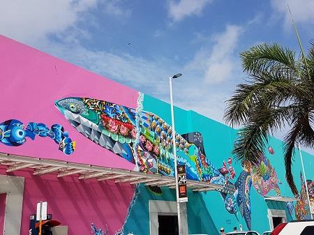 playa del carmen grafittis