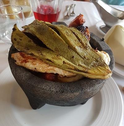 restaurant hotel mision palenque chiapas
