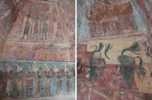 peintures bonampak